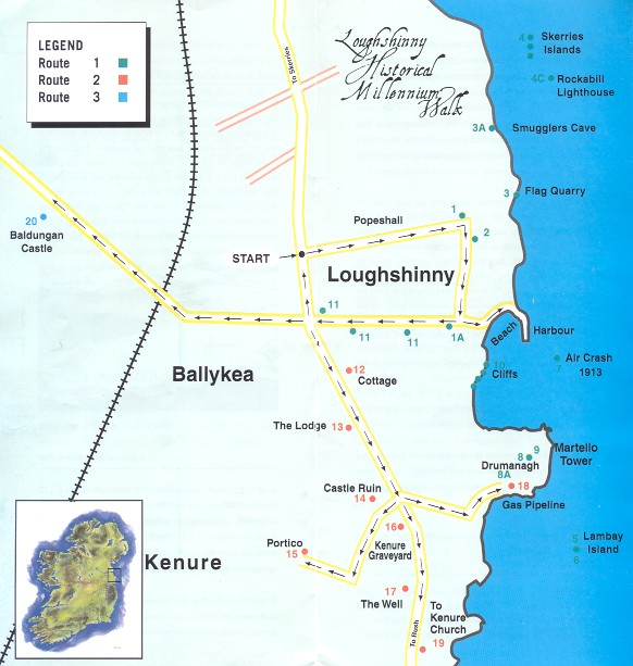 Loughshinny Historical Millennium Walk